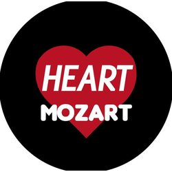 I Heart Mozart Pin