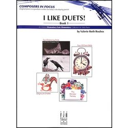 I Like Duets - Book 1 Piano Duet (1P4H)