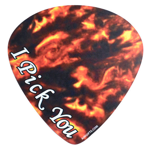 View larger image of I Pick You Guitar Pick Magnet
