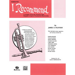 I Recommend - Clarinet