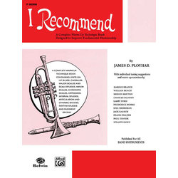 I Recommend - F Horn