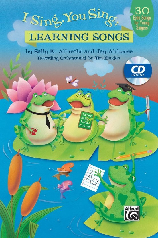 View larger image of I Sing You Sing: Learning Songs - Vocal CD Kit