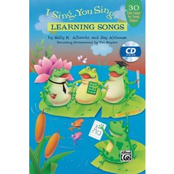 I Sing You Sing: Learning Songs - Vocal CD Kit