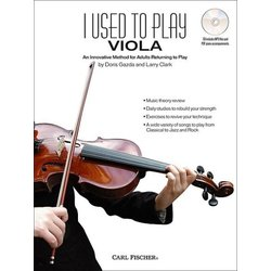 I Used to Play Viola - Method Book and CD