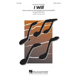 I Will (The Beatles), TTBB (A Cappella)