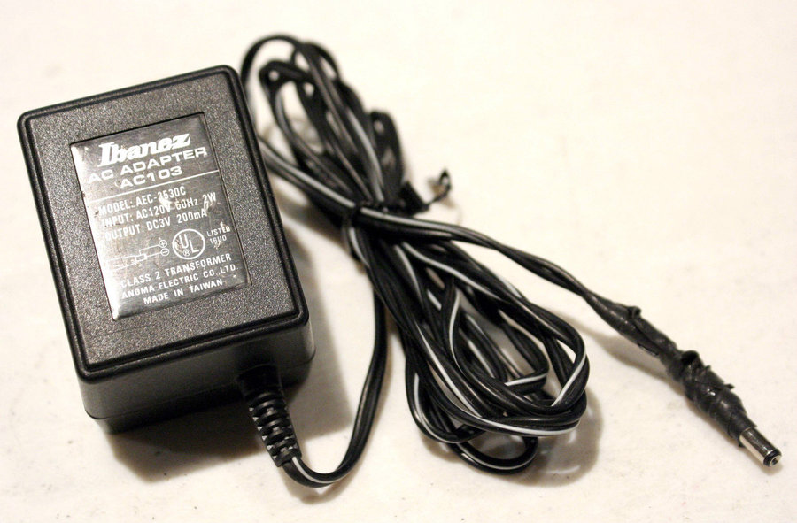 View larger image of Ibanez AC103 Power Adapter