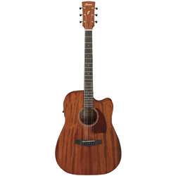 Ibanez PF12MHCE-OPN Acoustic-Electric Guitar - Natural