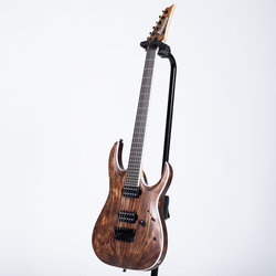 Ibanez RGAIX6U RGA Iron Label Electric Guitar - Antique Brown Stained