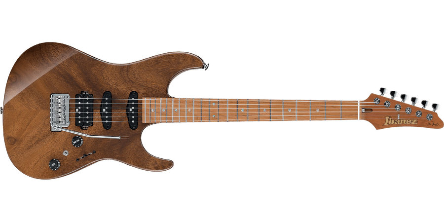 View larger image of Ibanez TQM1 Tom Quayle Signature Electric Guitar - Natural