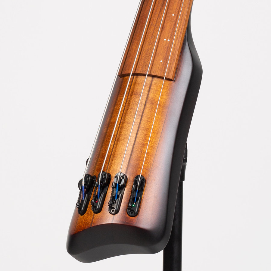 View larger image of Ibanez UB804 Upright Electric Bass - Mahogany Oil Burst