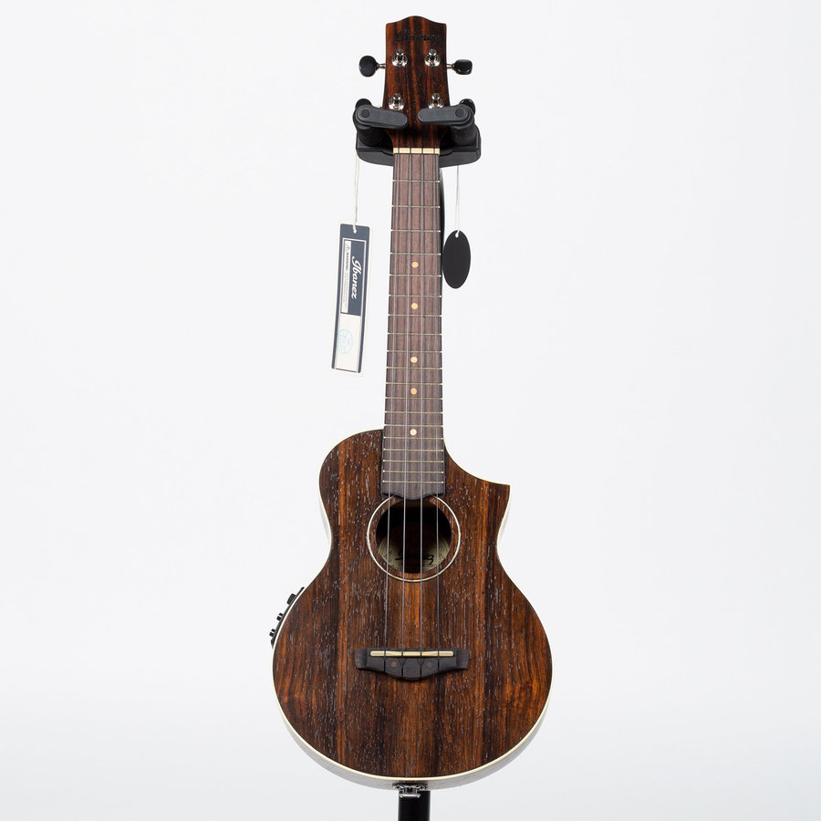 View larger image of Ibanez UEW13MEE Acoustic-Electric Ukulele - Dark Brown Open Pore