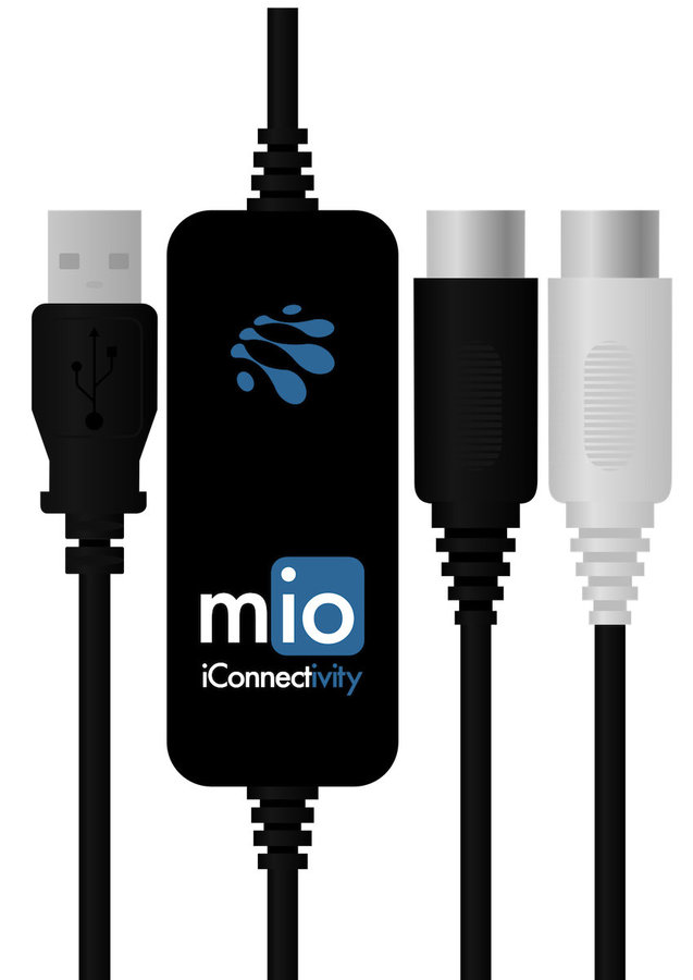 View larger image of iConnectivity mio 1 in 1 Out USB to MIDI for Mac and PC