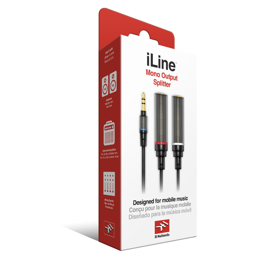 View larger image of IK Multimedia iLine Mono Output Splitter Cable