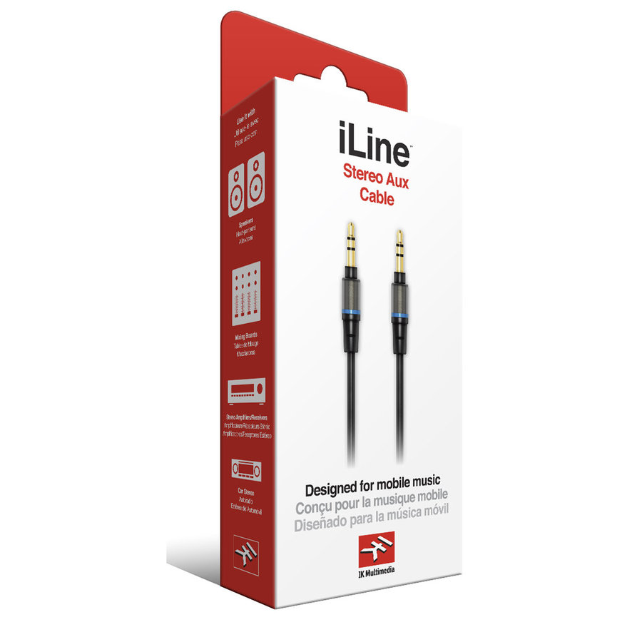 View larger image of IK Multimedia iLine Stereo Aux Mobile Music Cable