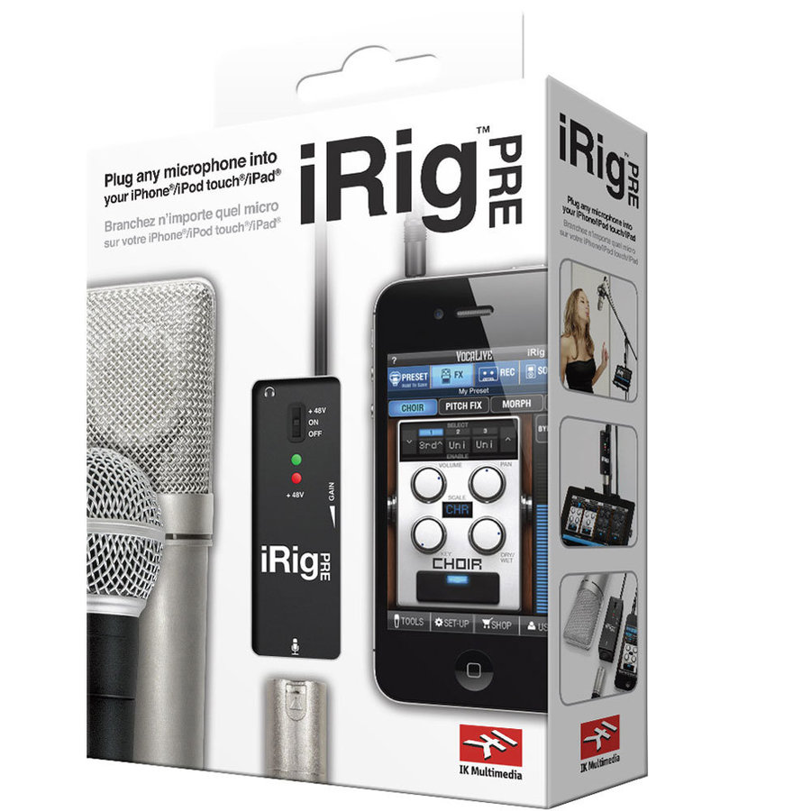 View larger image of IK Multimedia iRig Pre Microphone Interface