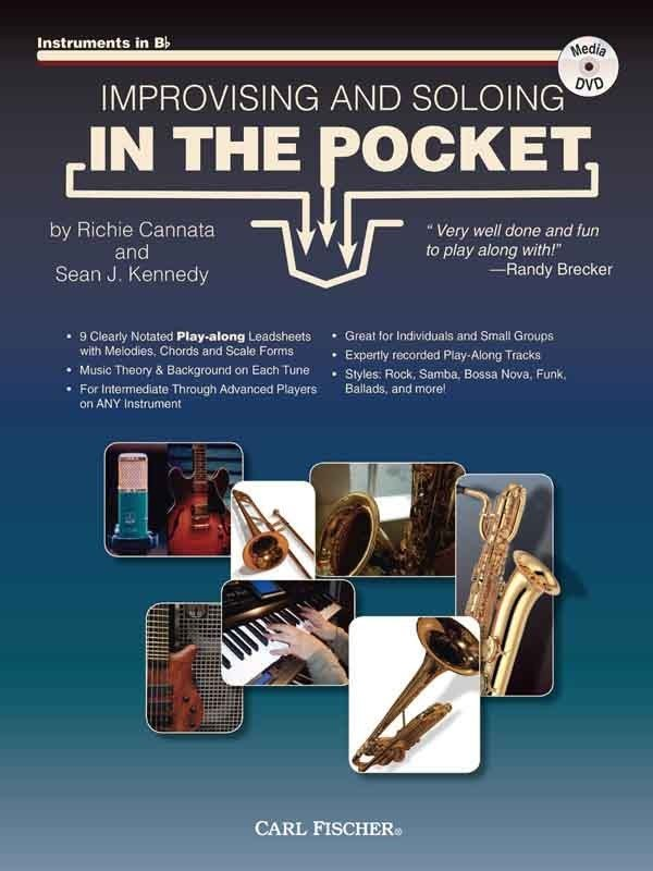 View larger image of Improvising and Soloing In The Pocket - Bb Instruments