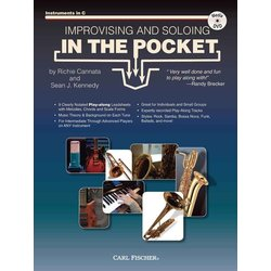 Improvising and Soloing In The Pocket - C Instruments