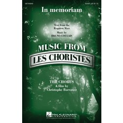 In Memoriam (Music from Les Choristes), SSAA Parts