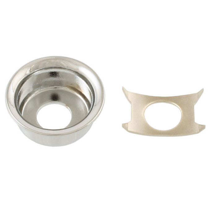 View larger image of Input Cup Jackplate for Telecaster - Chrome
