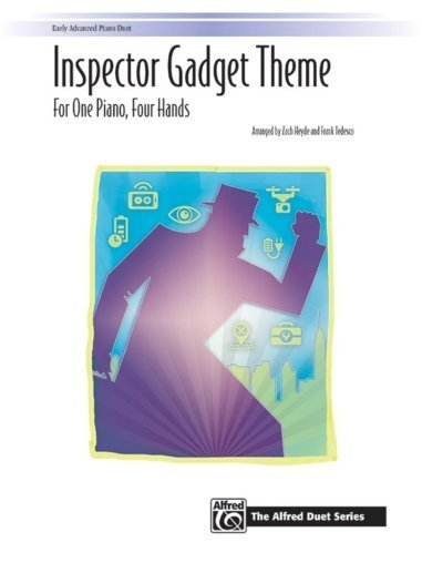 View larger image of Inspector Gadget Theme - Piano Duet (1P4H)