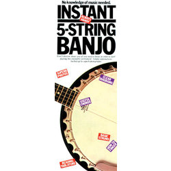 Instant 5-String Banjo - Compact Reference Library