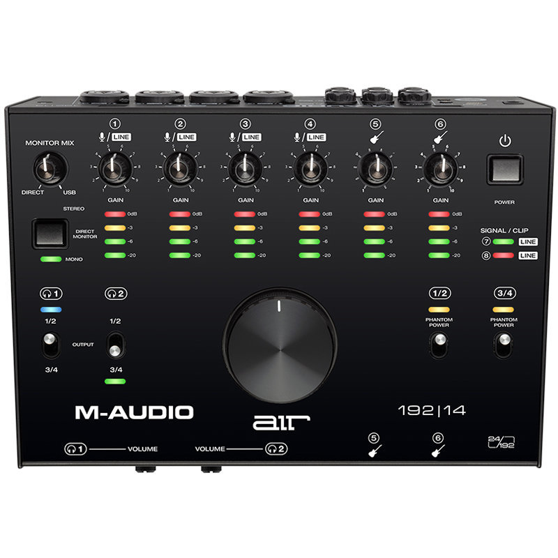 View larger image of M-Audio AIR 192-14 USB Audio Interface