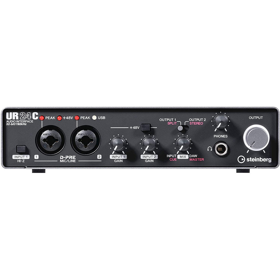 View larger image of Steinberg UR24C USB Audio Interface