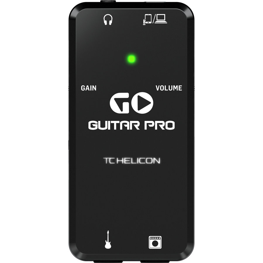 View larger image of TC Helicon Go Guitar Pro Portable Guitar Interface