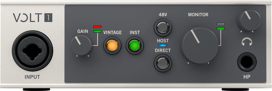 View larger image of Universal Audio Volt 1USB Audio Interface