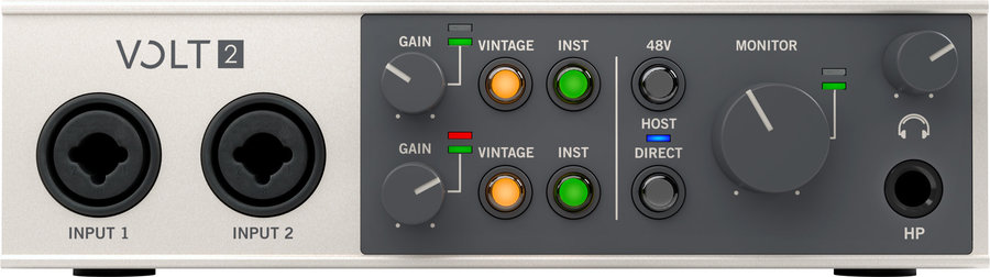View larger image of Universal Audio Volt 2 USB Audio Interface