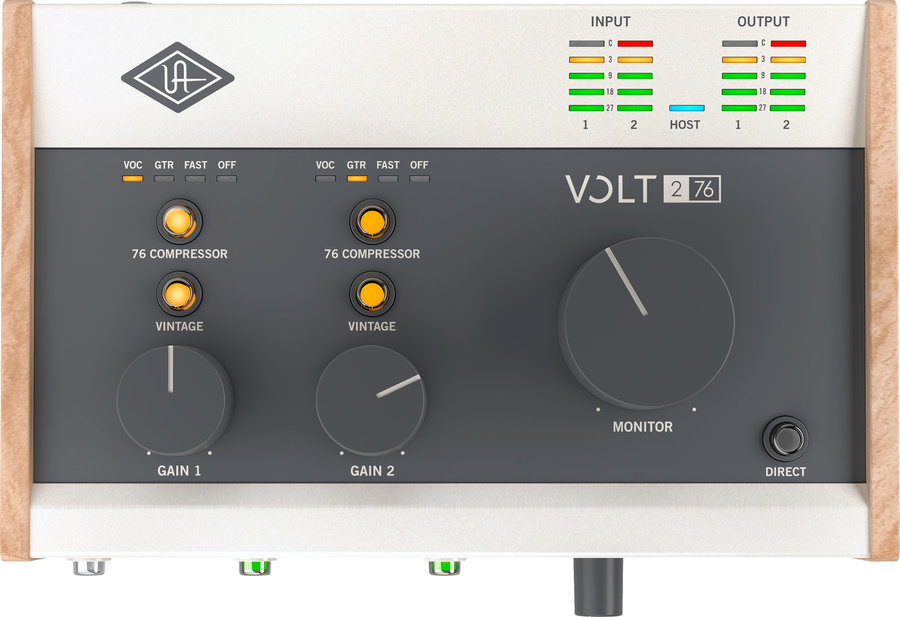 View larger image of Universal Audio Volt 276 USB Audio Interface