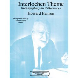 Interlochen Theme (from Sympony No.2) - Score & Parts, Grade 1