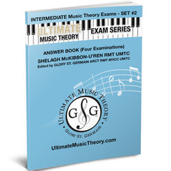 Intermediate Music Theory Exams Set 2 Answer Book