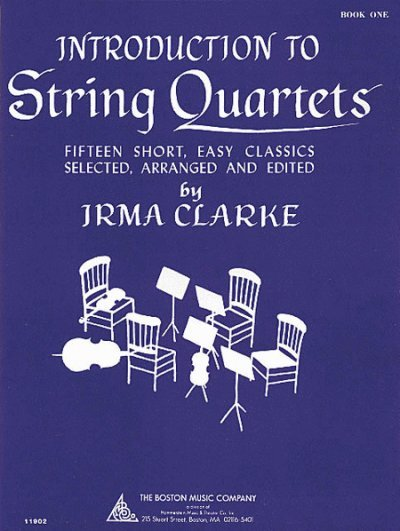 View larger image of Introduction to String Quartets - Book 1