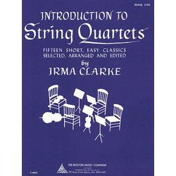 Introduction to String Quartets - Book 1