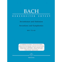 Inventions and Sinfonias BWV 772-801 - Bach
