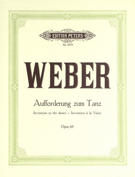 View larger image of Invitaton to the Dance Op.65 (Weber)
