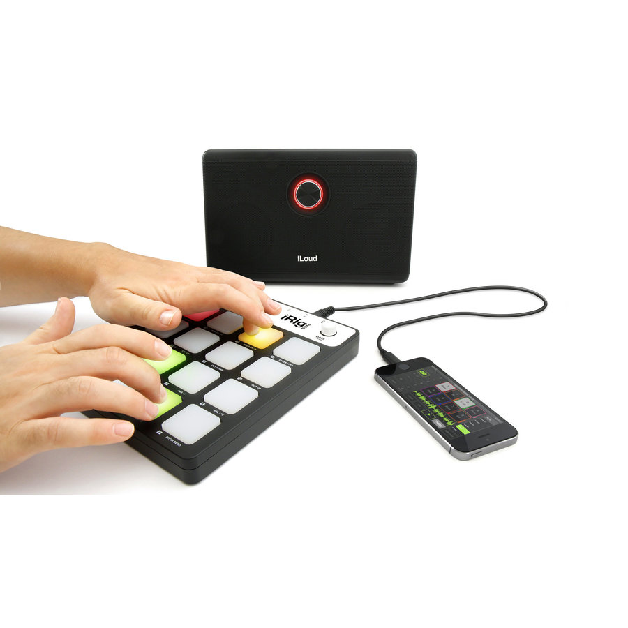 View larger image of iRig Pads MIDI Groove Pad Controller