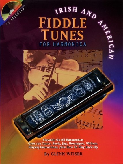 View larger image of Irish And American Fiddle Tunes for Harmonica w/CD