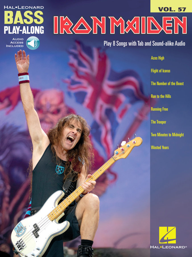 View larger image of Iron Maiden - Bass Play-Along Volume 57 w/Online Audio