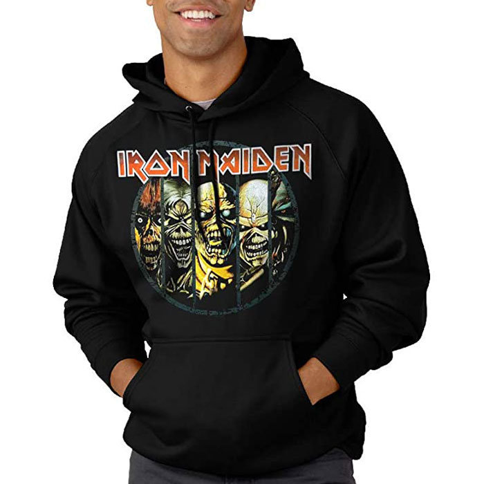 View larger image of Iron Maiden Evolution Hoodie - Men's Large