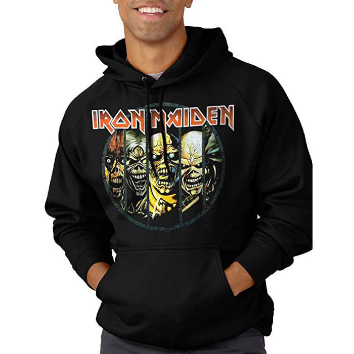 View larger image of Iron Maiden Evolution Hoodie - Men's XL