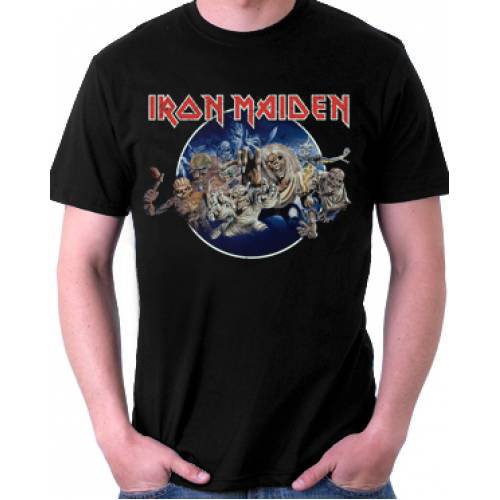 View larger image of Iron Maiden Fly To Hell And Back T-Shirt - Men's Medium