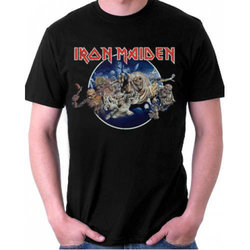 Iron Maiden Fly To Hell And Back T-Shirt - Men's Small