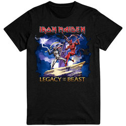 Iron Maiden Legacy of the Beast T-Shirt - Men's Large