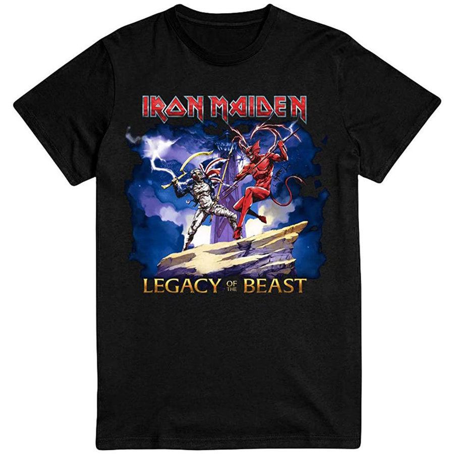 View larger image of Iron Maiden Legacy of the Beast T-Shirt - Men's Small