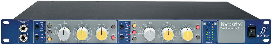 View larger image of ISA Two Microphone Preamp
