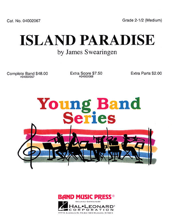 View larger image of Island Paradise - Score & Parts, Grade 2.5