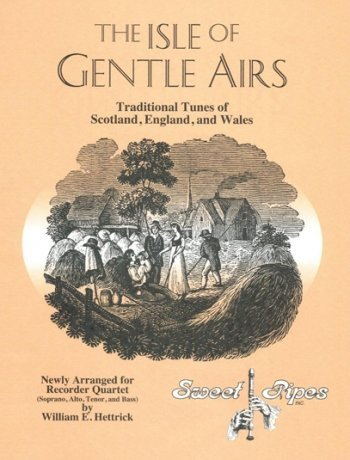 View larger image of Isle of Gentle Airs (Recorder Quartet, SATB)