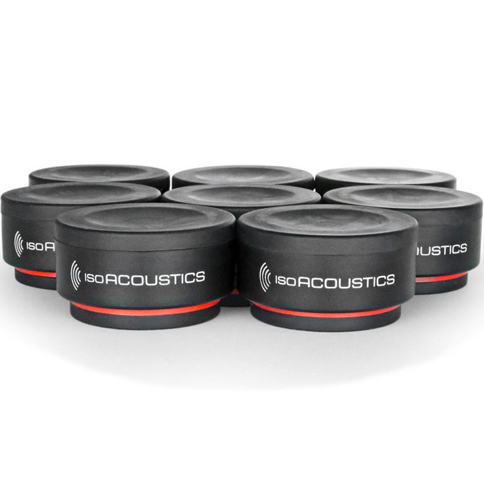 View larger image of IsoAcoustics ISO-Puck Mini Vibration Insolators - 8 Pack